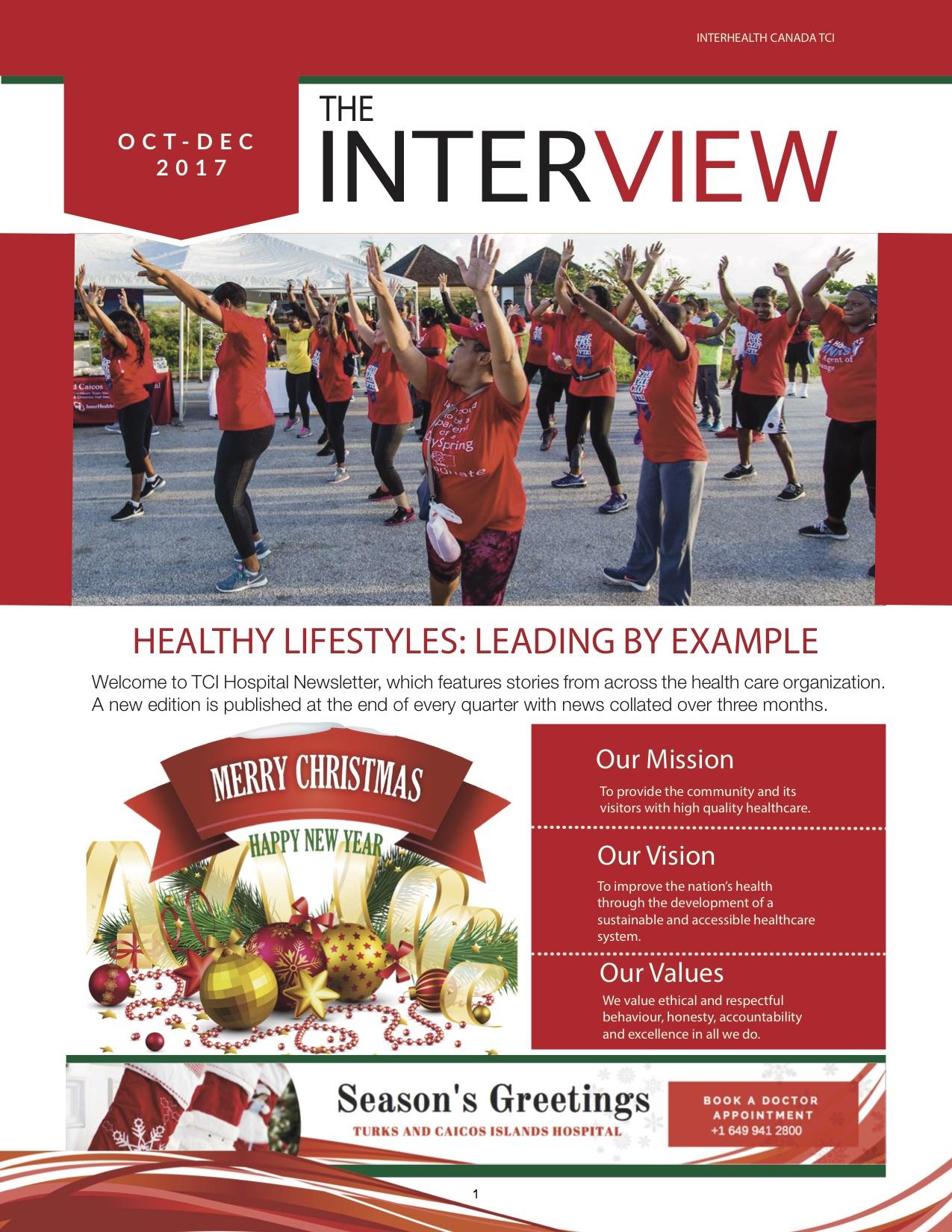 Oct-Dec 2017 Newsletter